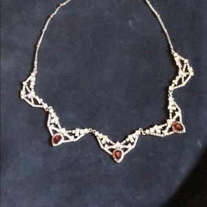 Chloe + Isabel ethereal chandelier collar